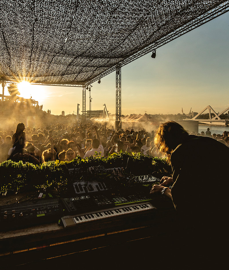 tv2beat's audiovisual production for Brunch -In the Park – Valencia