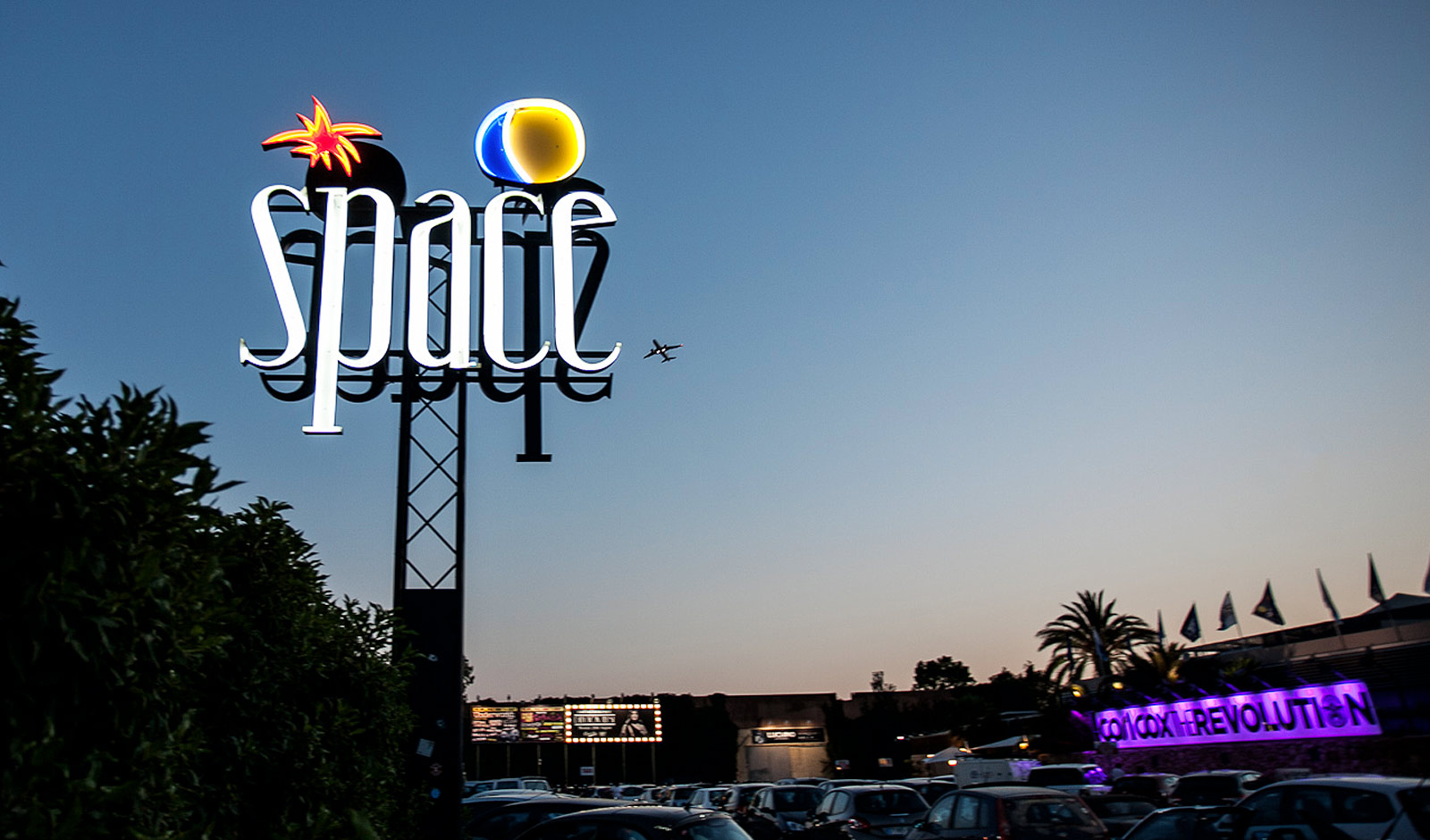 tv2beat's audiovisual production for Space Ibiza
